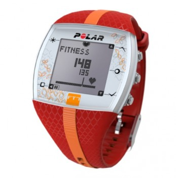 POLAR FT7 RED - SILVER