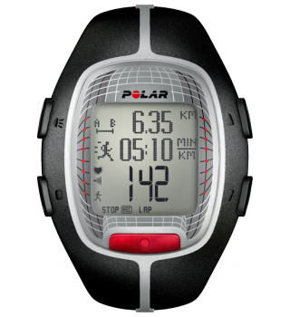 POLAR Trainingscomputer RS300X Black