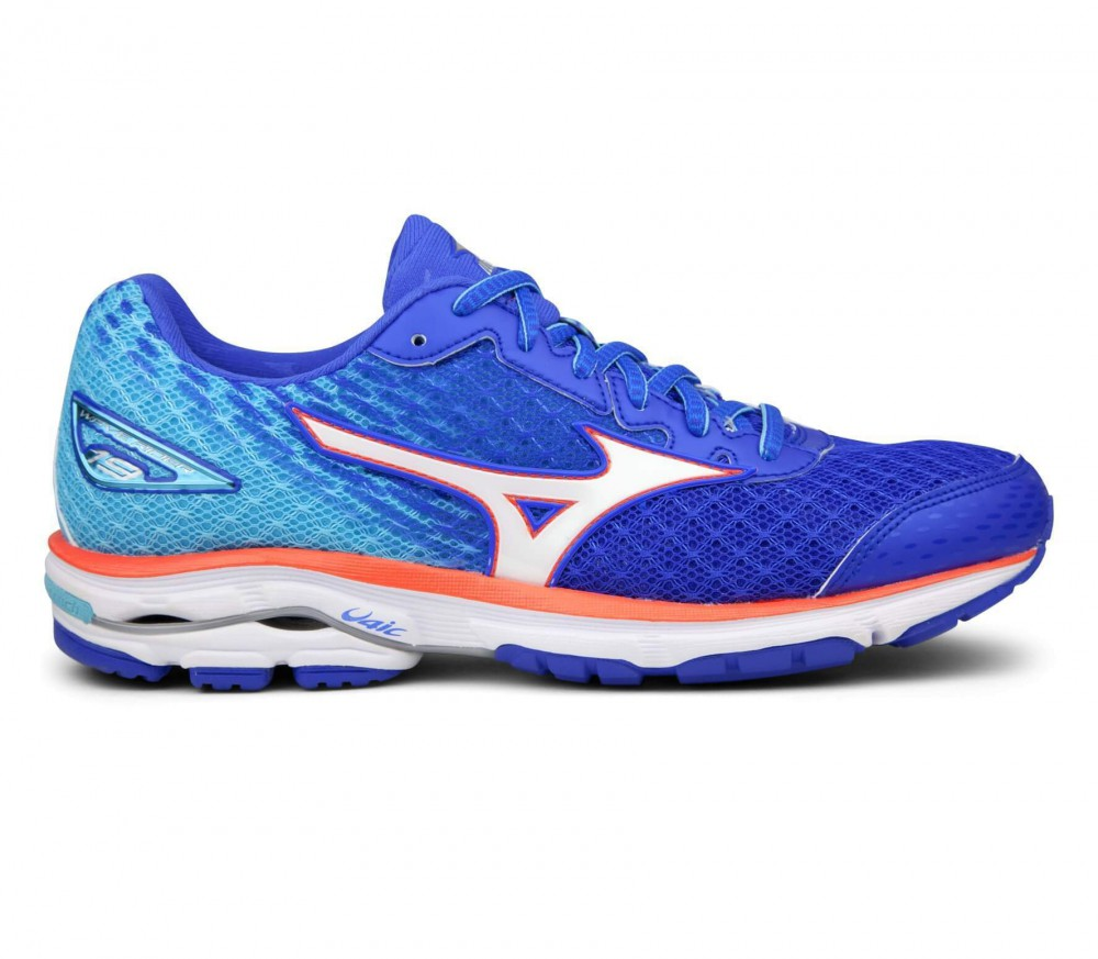 purchase cheap 070af aed07 mizuno wave rider 17 dazzling blue