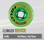 Clinger Indoor Wheel 74A - 76mm